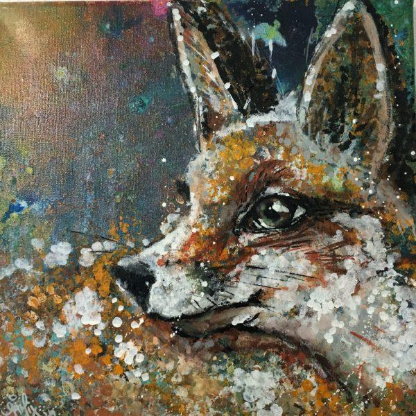Leinwand Fuchs